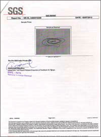 Rajasthan Electric Industries Certificate